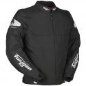Blouson moto Textile Furygan Atom Noir Blanc