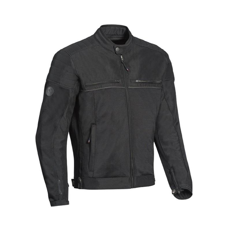 Blouson moto textile homme 2en1 Ixon Filter Noir