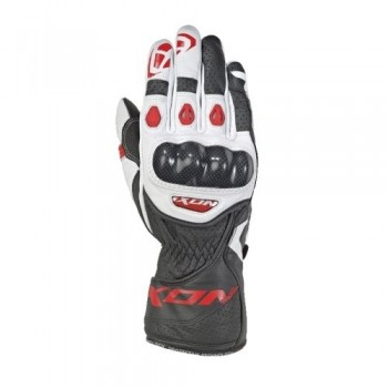 Gants Ixon RC Circuit 2 Nior Blanc Rouge