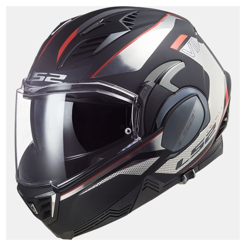 Casque LS2 Valiant II FF900 Hub Chrome