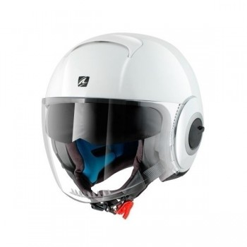 Casque Jet Shark Nano Blanc Brillant