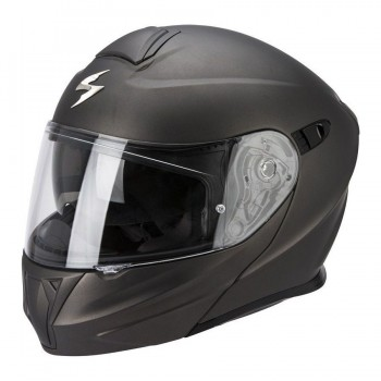 CASQUE MODULABLE SCORPION EXO-920 SOLID GRIS ANTHRACITE MAT