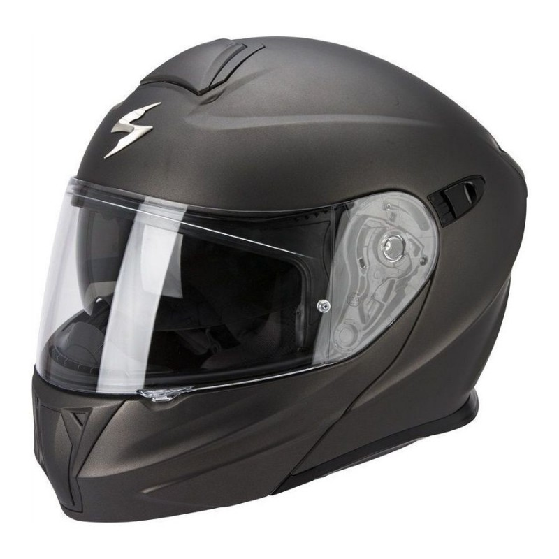 Casque Scorpion EXO-490 Solid Anthracite Mat