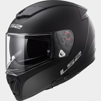 CASQUE INTEGRAL LS2 BREAKER SOLID NOIR MAT