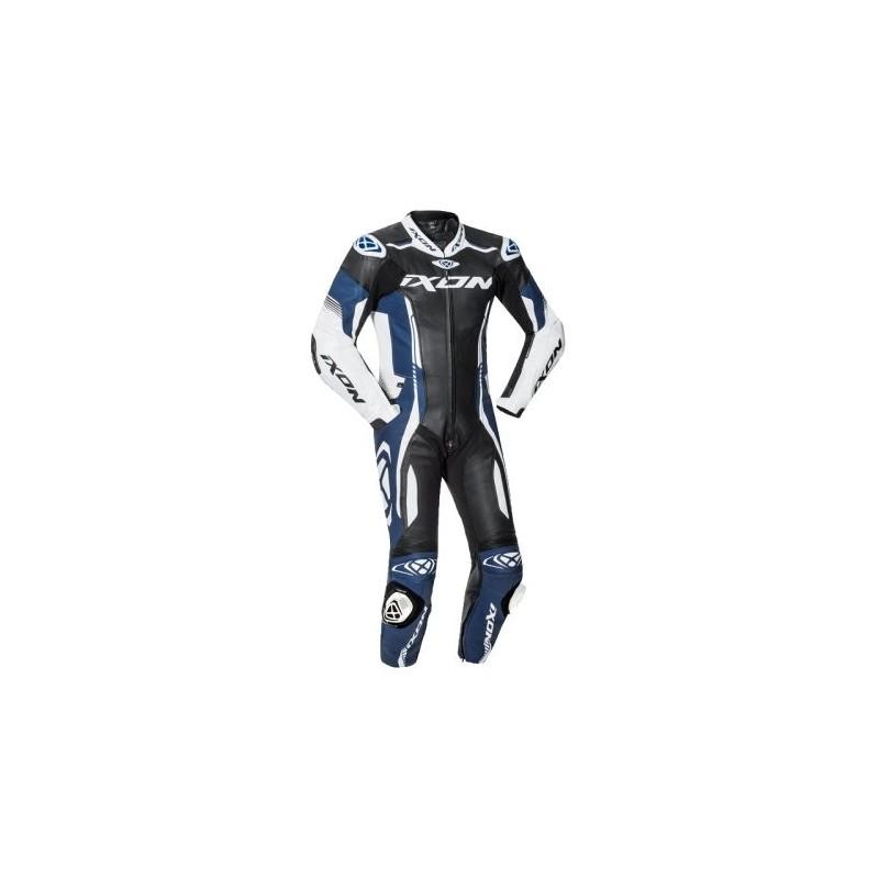 Combinaison Racing Ixon Vortex 2 Noir Blanc Bleu
