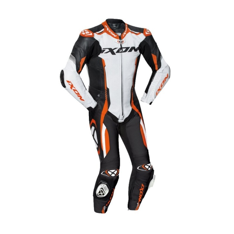 Combinaison Racing Ixon Vortex 2 Noir Blanc Orange
